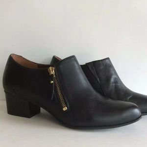 Naturalizer Comfort Bootie TIPLEY Black Leather 9W